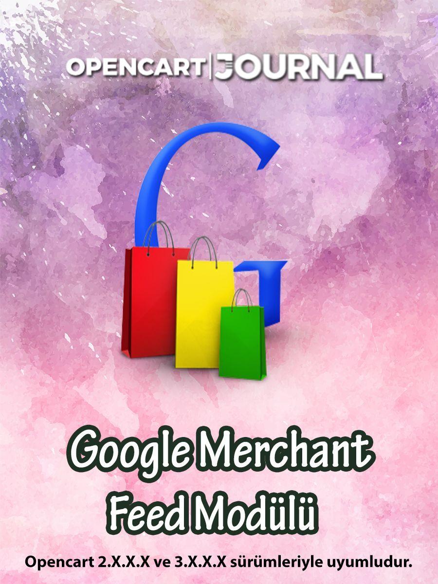 Opencart Google Merchant Feed Modülü