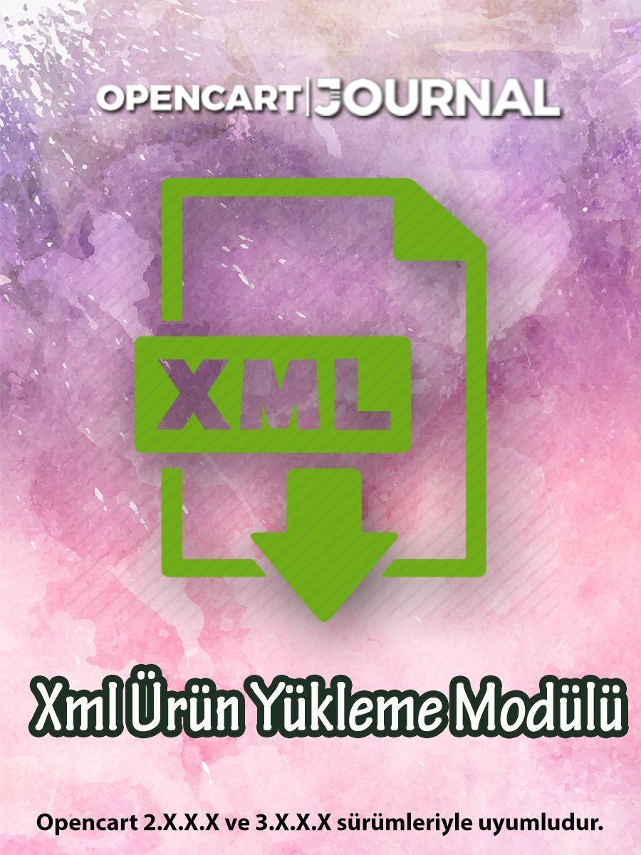Opencart Xml Ürün Yükleme Modülü